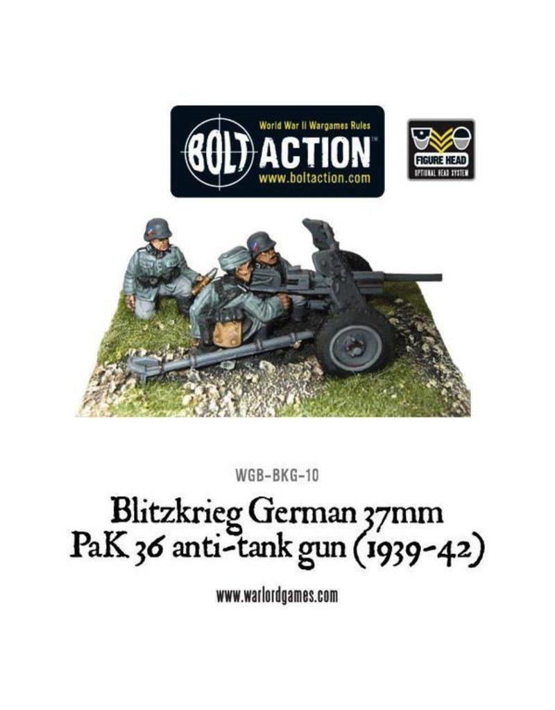 Bolt Action BA German Army: Blitzkrieg 37mm PaK36 Anti-Tank Gun