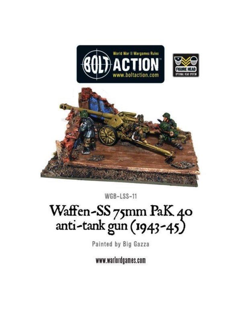 Bolt Action BA German Army: Waffen-SS 75mm PaK 40 anti-tank gun (1943-45)