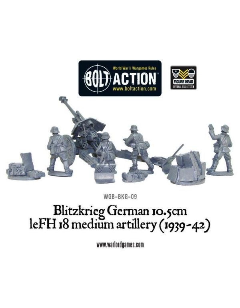 Bolt Action BA German Army: Blitzkrieg IeFH 18 10.5cm Howitzer