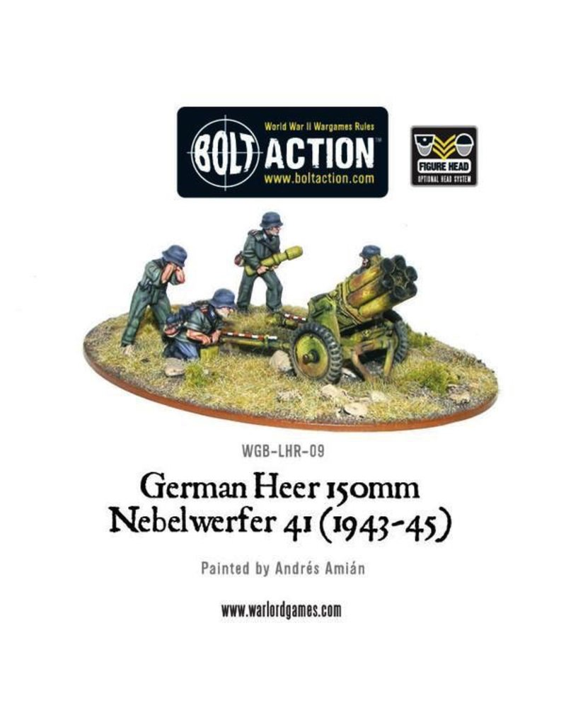 Bolt Action BA German Army: Heer Nebelwerfer