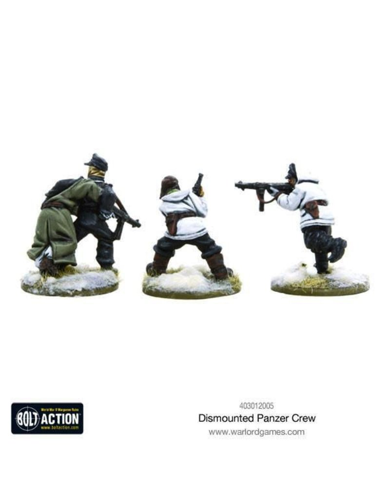 Bolt Action BA German Army: Dismounted Panzer Crew