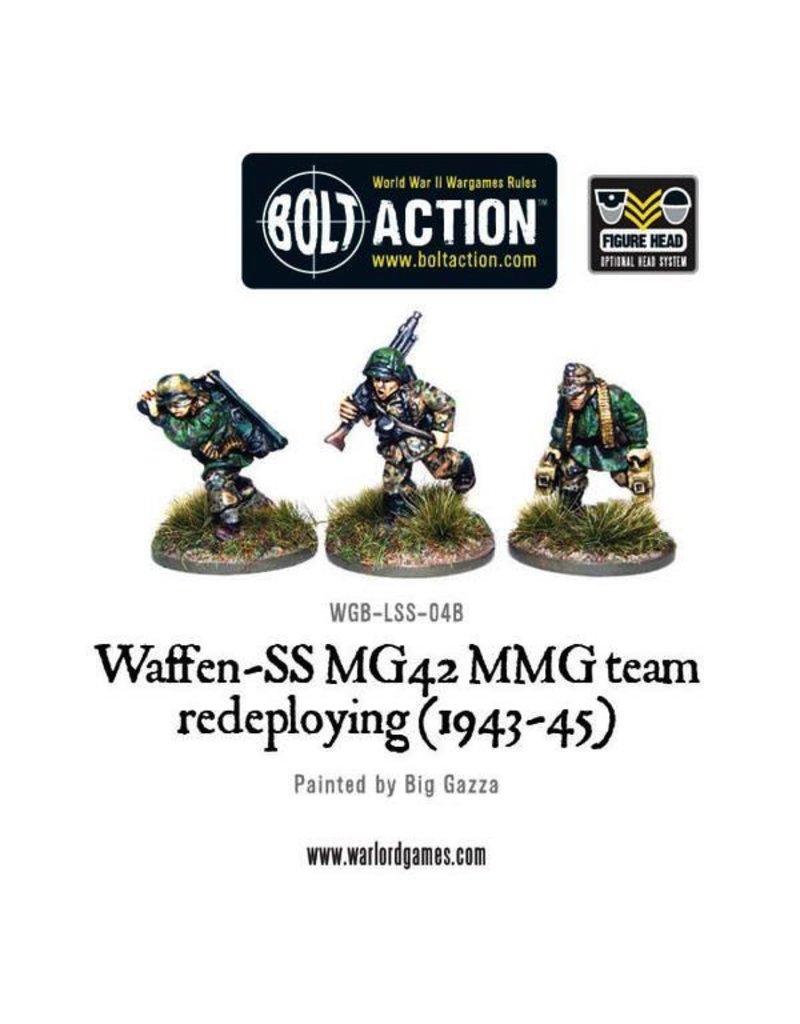 Bolt Action BA German Army: Waffen-SS MG42 MMG Team Redeploying (1943-45)