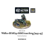 Bolt Action BA German Army: Waffen-SS MG42 MMG Team Firing (1943-45)