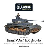 Bolt Action BA German Army: Panzer IV Ausf. F1/G/H Medium Tank (Plastic)