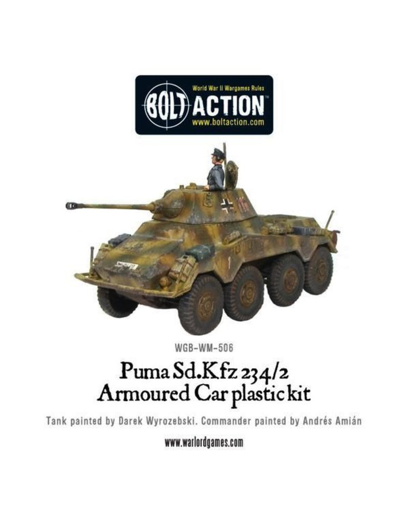 Bolt Action BA German Army: Puma Sd.Kfz 234/2 Armored Car