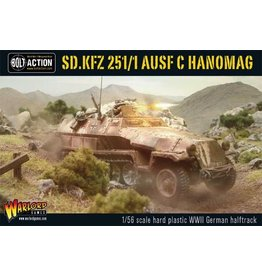 Bolt Action BA German Army: Sdkfz 251/1 AUSF C Hanomag Half Track