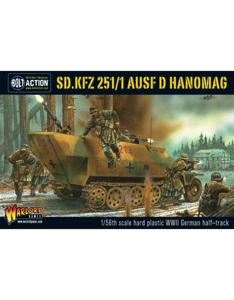 Bolt Action BA German Army: Sd.Kfz 251/1 Ausf D Hanomag