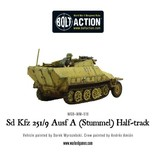Bolt Action BA German Army: Sd.Kfz 251/9 Ausf D (Stummel) Half-Track