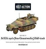 Bolt Action BA German Army: Sd.Kfz 251/2 Ausf D (8cm Granatwerfer) Half Track