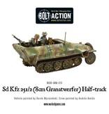 Bolt Action BA German Army: Sd.Kfz 251/2 Ausf D (8cm Granatwerfer) Half Track