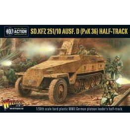 Bolt Action BA German Army: Sd.Kfz 251/10 ausf. D (Pak 36) Half-Track