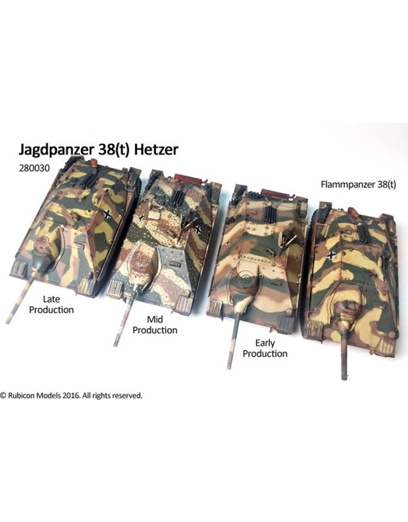 Rubicon Models 28mm Rubicon Models: (German) Jagdpanzer 38(t) Hetzer