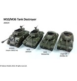 Rubicon Models 28mm Rubicon Models: (USA) M10/M36 Tank Destroyer