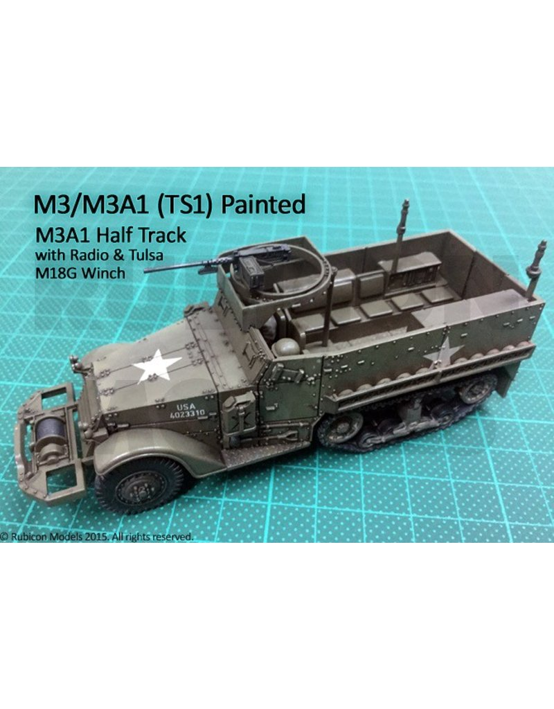 Rubicon Models 28mm Rubicon Models: M3 / M3A1 Half Track