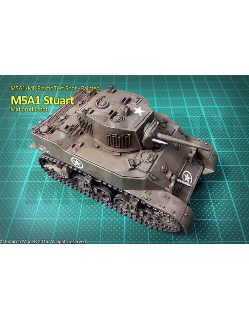 Rubicon Models DIRECT 28mm Rubicon Models: M5A1 Stuart / M5A1 Recce