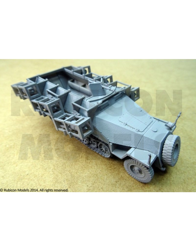 "Rubicon Models 28mm Rubicon Models: SdKfz 251/1 Ausf D ""Stuka zu Fuss"""