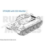 Rubicon Models 28mm Rubicon Models: T-34/85