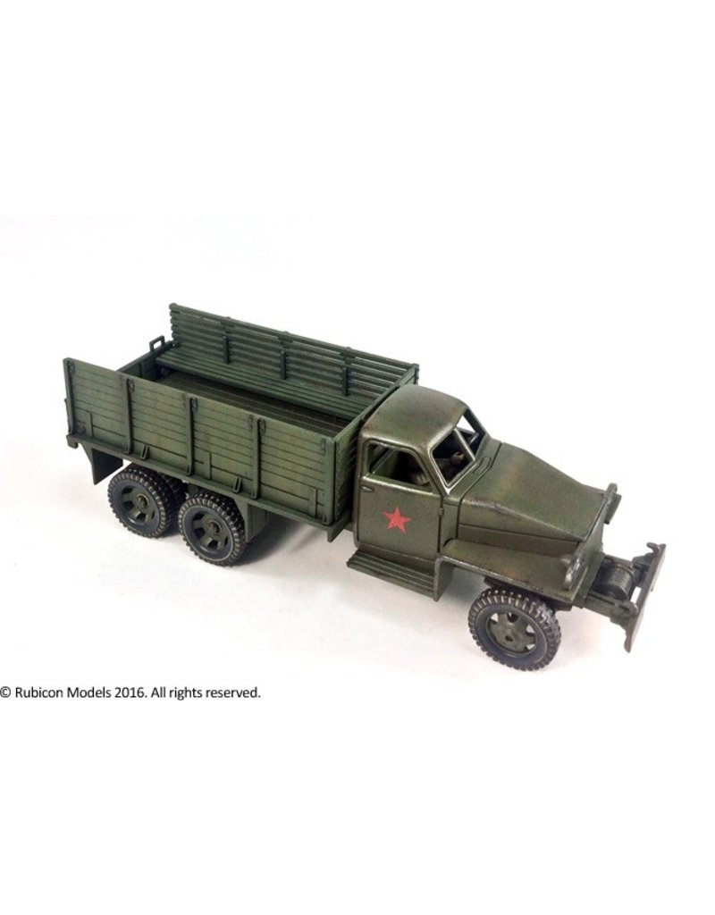 Rubicon Models 28mm WWII: (Allied) US6 U3/U4 2.5 ton 6x6 Truck (Studebaker)