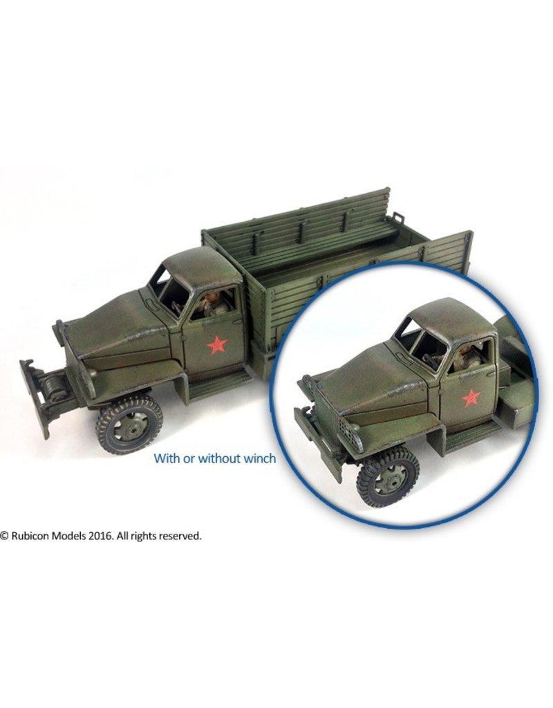 Rubicon Models 28mm WWII: (Allied) US6 U3/U4 2.5 ton 6x6 Truck (Studebaker)