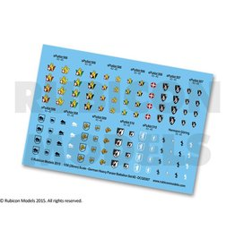 Rubicon Models 28mm WWII: (German) Heavy Panzer Battalion Decal Set 2