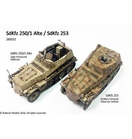 Rubicon Models 28mm WWII: (German) SdKfz 250/1 Alte/SdKfz 253