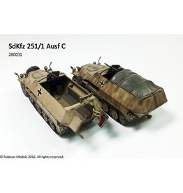 Rubicon Models 28mm WWII: (German) SdKfz 251/1 Ausf C