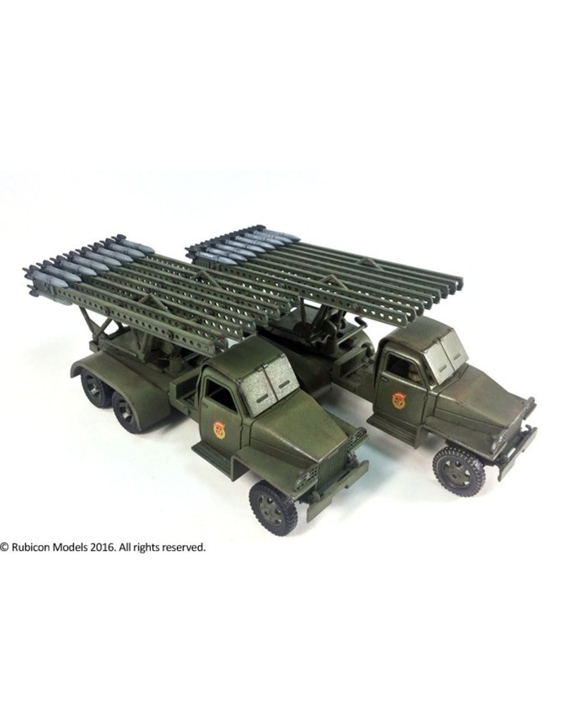 "Rubicon Models 28mm WWII: (Soviet) BM-13N ""Katyusha"" Rocket Launcher"
