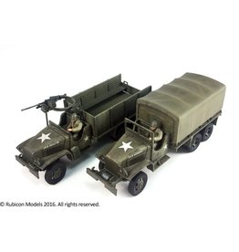 Rubicon Models 28mm WWII: (USA) CCKW 353 2.5 ton 6x6 Truck (GMC)