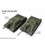 Rubicon Models 28mm WWII: (Soviet) SU-85/SU-122 SPG