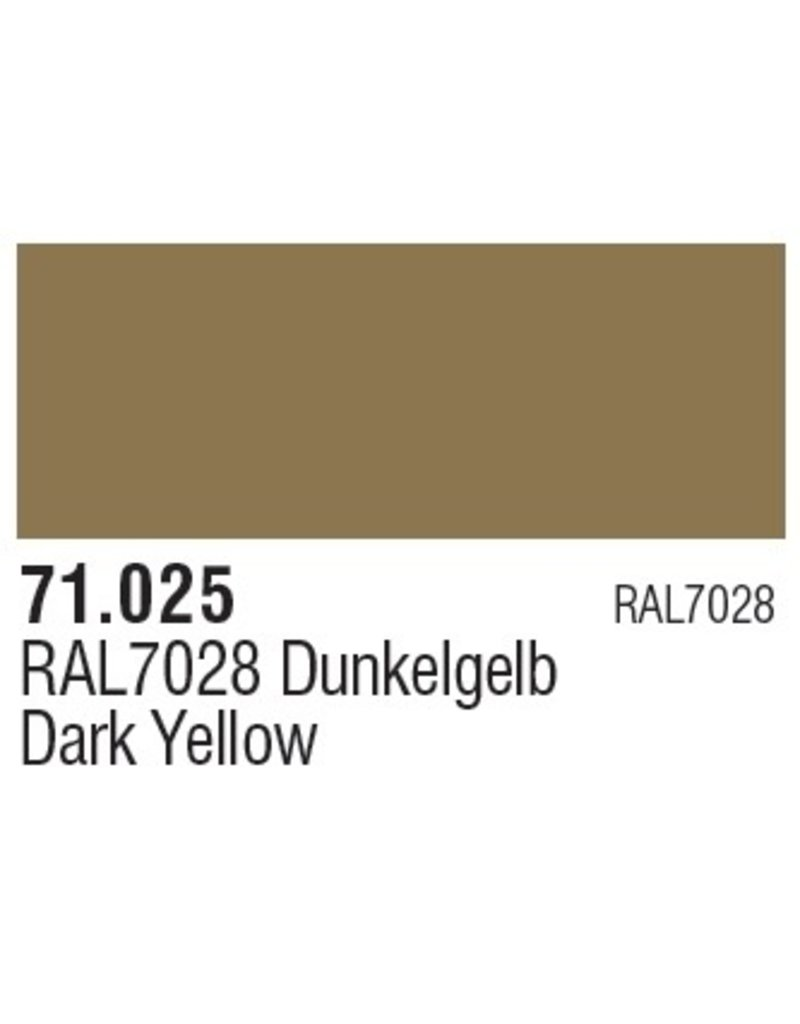 Vallejo VAL71025 Dark Yellow