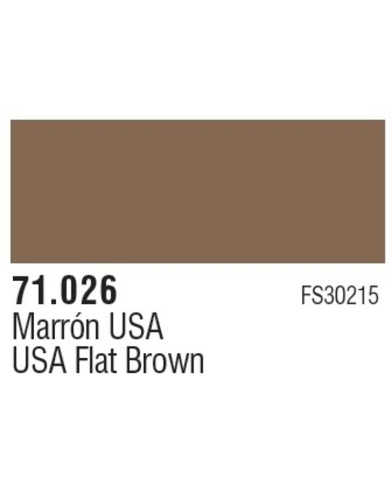 Vallejo VAL71026 US Flat Brown