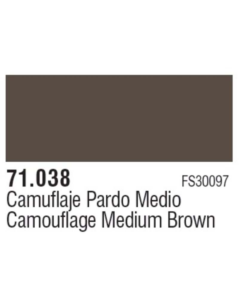 Vallejo VAL71038 Cam. Medium Brown