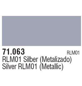 Vallejo VAL71063 Silver Met.