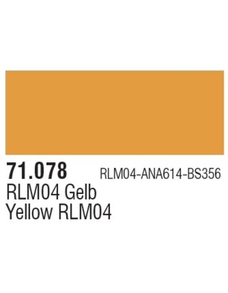 Vallejo VAL71078 Gold Yellow