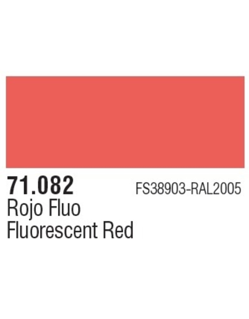 Vallejo VAL71082 Fluorescent Red
