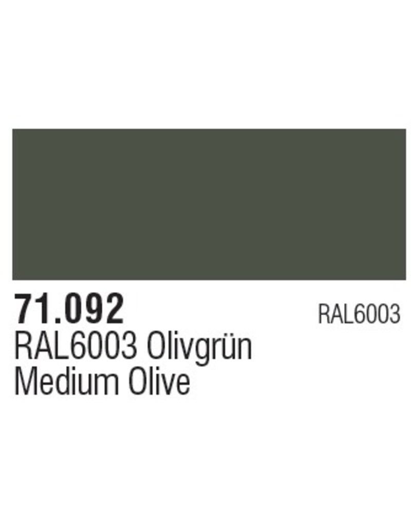 Vallejo VAL71092 Medium Green