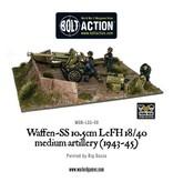 Bolt Action BA German Army: Waffen-SS 10.5cm LeFH 18/40 Medium Artillery