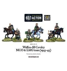 Bolt Action BA German Army: Waffen SS Cavalry NCO & LMG Team (1942-45)