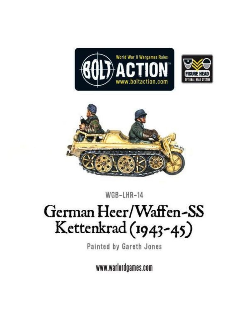 Bolt Action BA German Army: Heer/Waffen-SS Kettenkrad (1943-45)