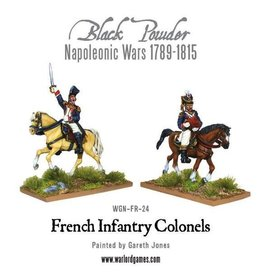 Warlord Games Mounted Napoleonic French Infantry Colonels