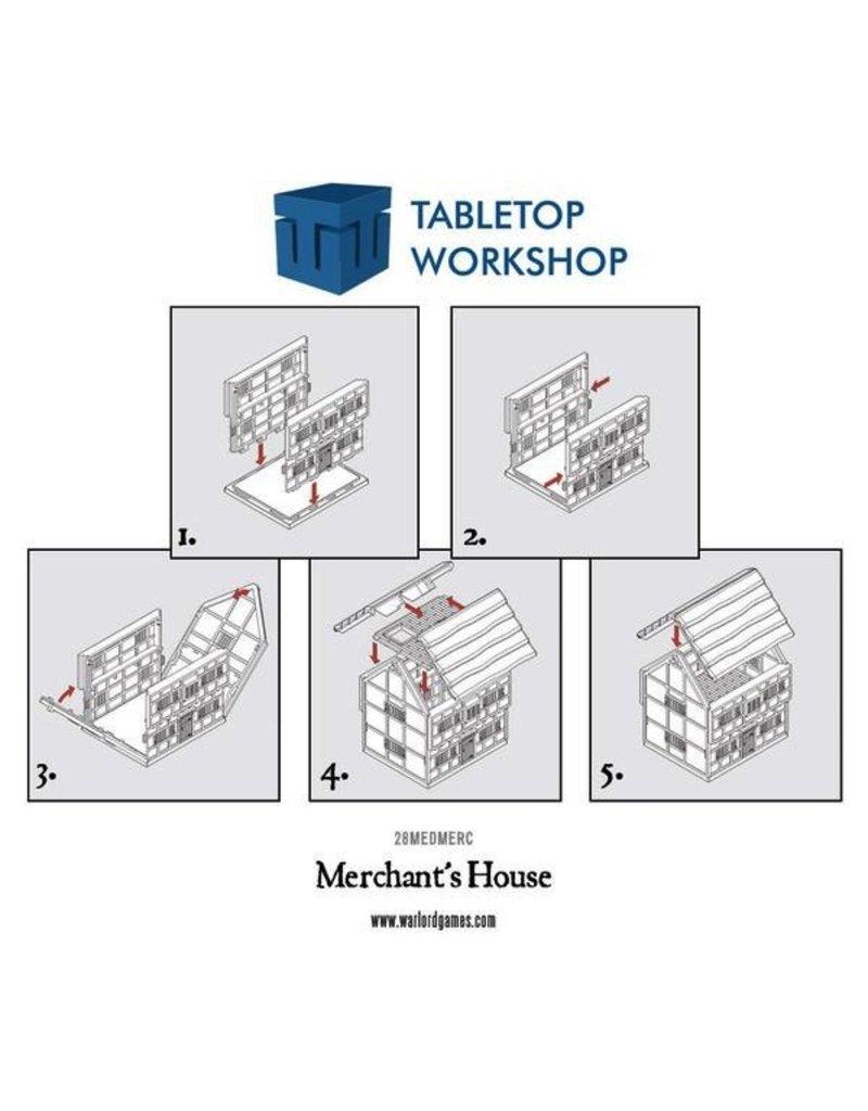 Tabletop Workshop 28mm Terrain: Merchant's House