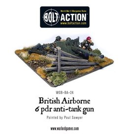 Bolt Action BA British Army: Para 6 Pounder ATG & Crew