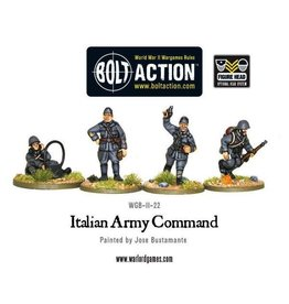 Bolt Action BA Italian Army: HQ
