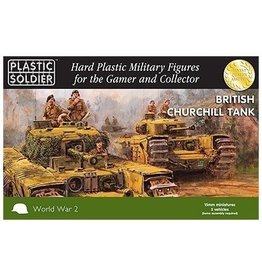 Plastic Soldier Company British Churchill (5pcs)