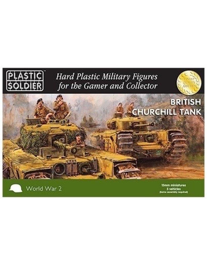 Plastic Soldier Company British Churchill (5pcs)