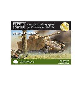 Plastic Soldier Company German Panzer IV (5pcs)