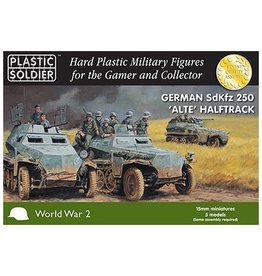 Plastic Soldier Company German SdKfz 250 Alte Halftrack (5pcs)