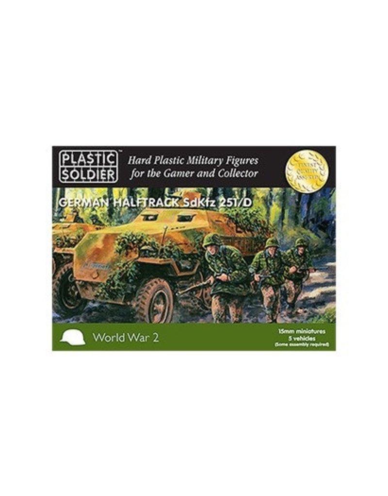 Plastic Soldier Company German Sdkfz 251 Ausf D (5pcs)