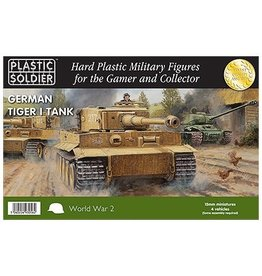 Plastic Soldier Company German Tiger I Tank (4pcs)