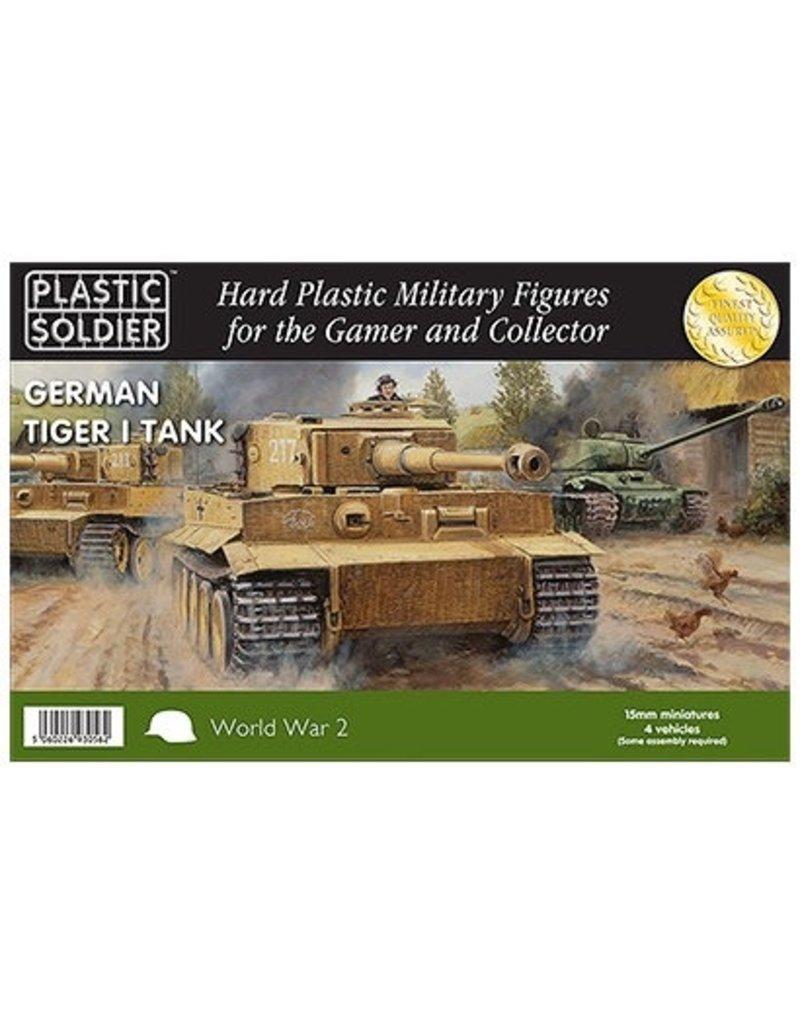 Plastic Soldier Company German Tiger I Tank (4pcs)